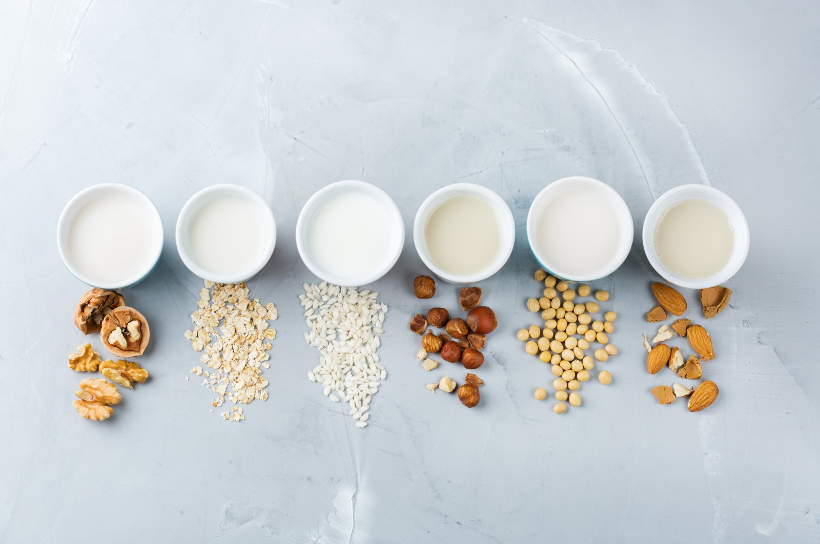 Plant-based dairy alternatives have become mainstream in many countries. (Shutterstock Photo)