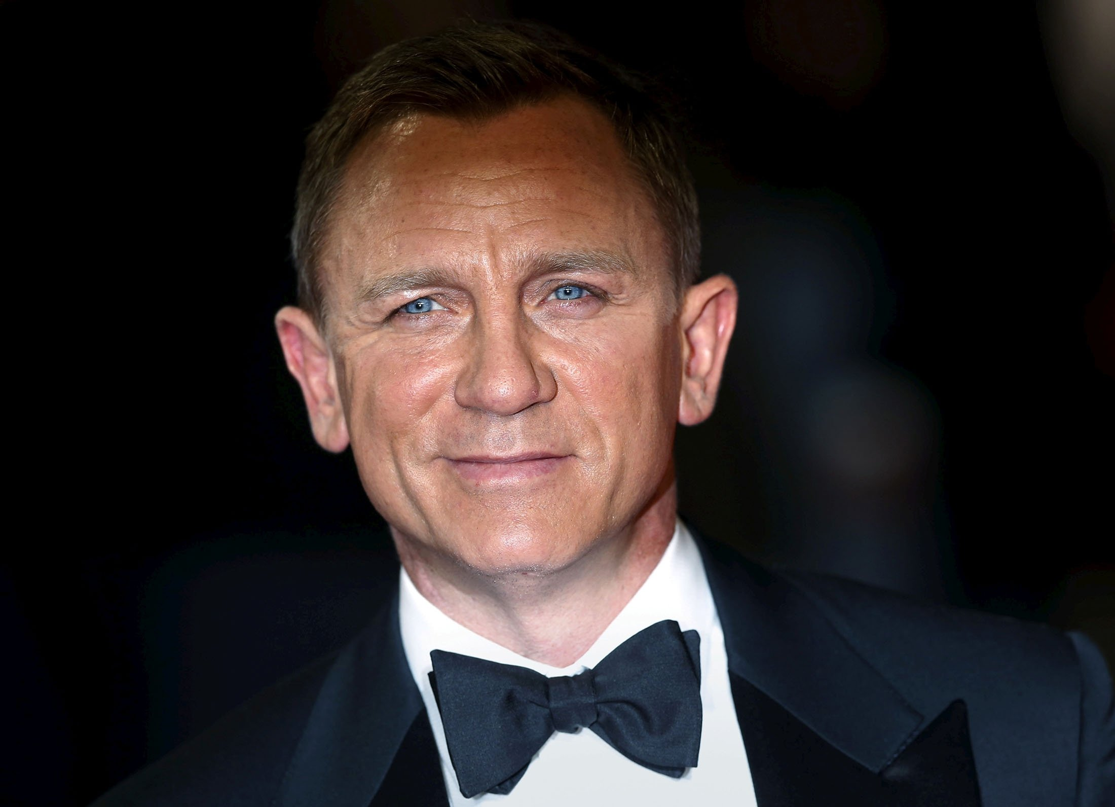 British actor Daniel Craig arrives for the world premiere of his James Bond film 'Spectre' at the Royal Albert Hall in London, U.K., Oct. 26, 2015. (Reuters Photo)
