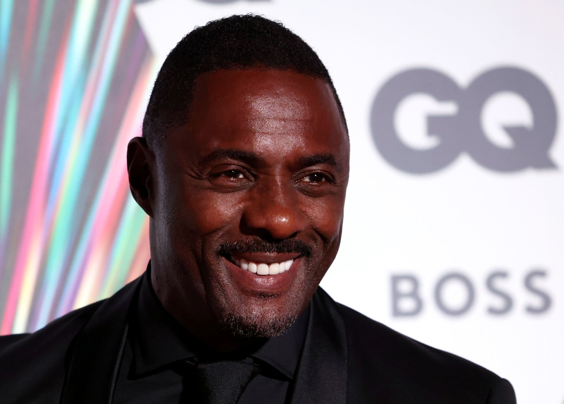 Actor Idris Elba arrives to the GQ Men Of The Year Awards 2021 in London, U.K., Sept. 1, 2021. (Reuters Photo)