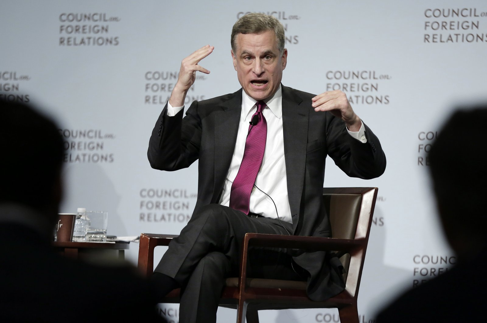 Federal Reserve Bank of Dallas President Robert Kaplan speaks to a breakfast meeting at the Council on Foreign Relations, in New York, U.S., May 31, 2017. (AP Photo)