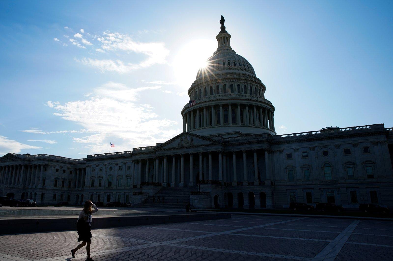 The U.S. Capitol is seen in Washington, U.S., Sept. 27, 2021. (Reuters Photo)
