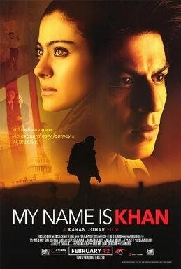 The film poster of the Bollywood movie 'My Name is Khan' (2013). (Wikimedia)