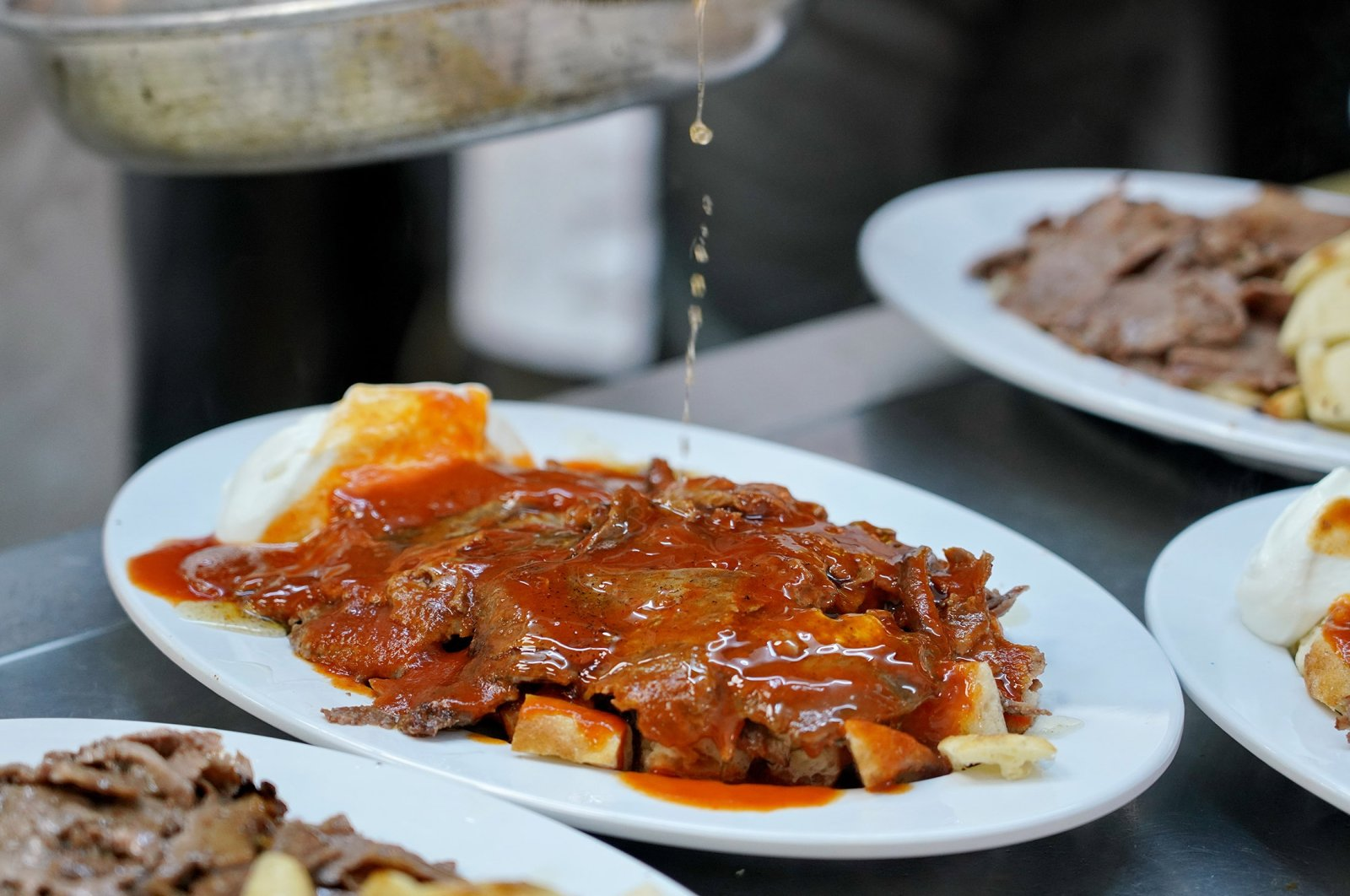 Traditional Turkish dish Iskender kebab. (Shutterstock Photo)