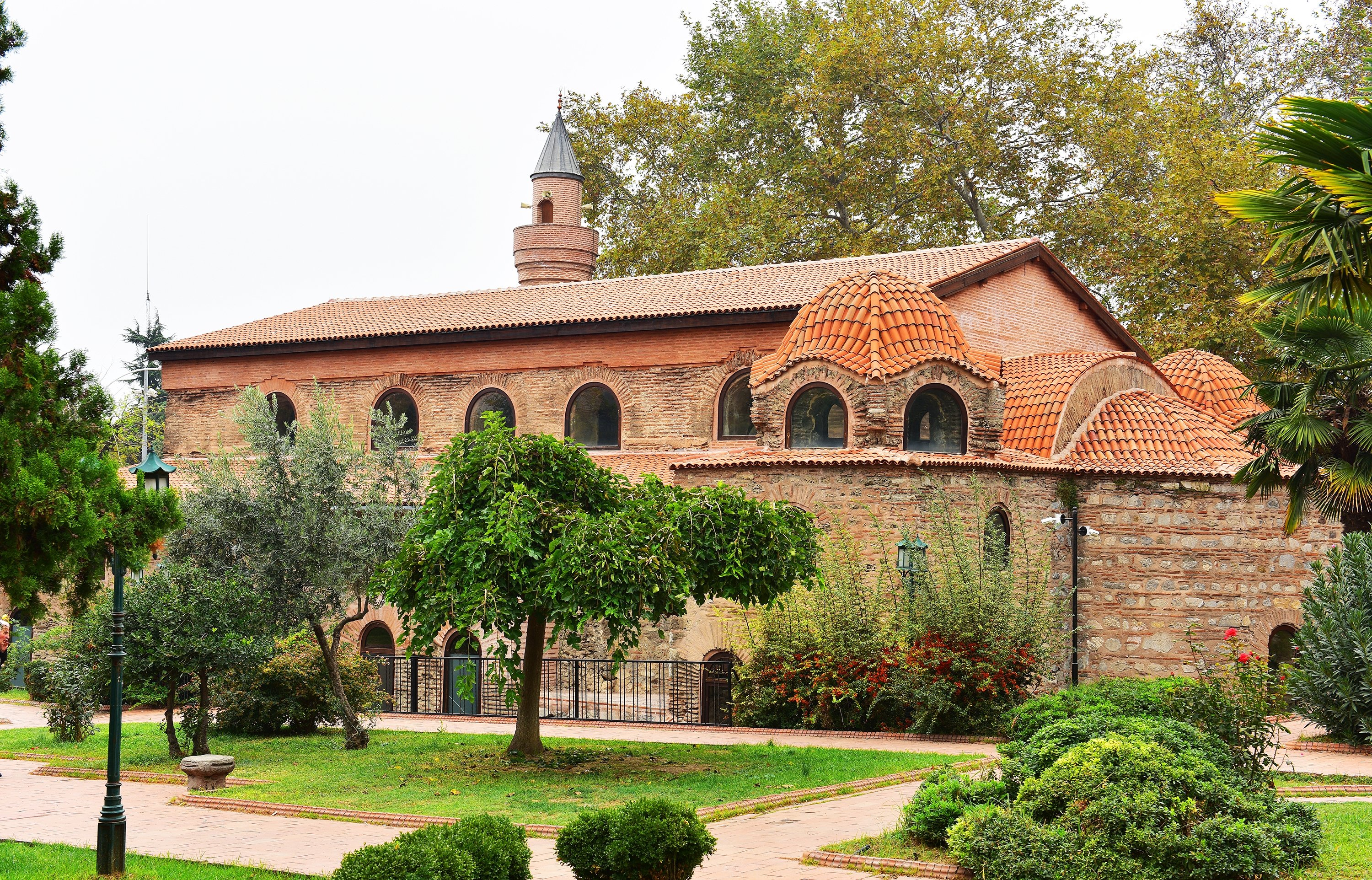 A view from the Church of Hagia Sophia in Iznik, which was converted into a mosque during the reign of Orhan Ghazi, Bursa, western Turkey. (Shutterstock Photo)