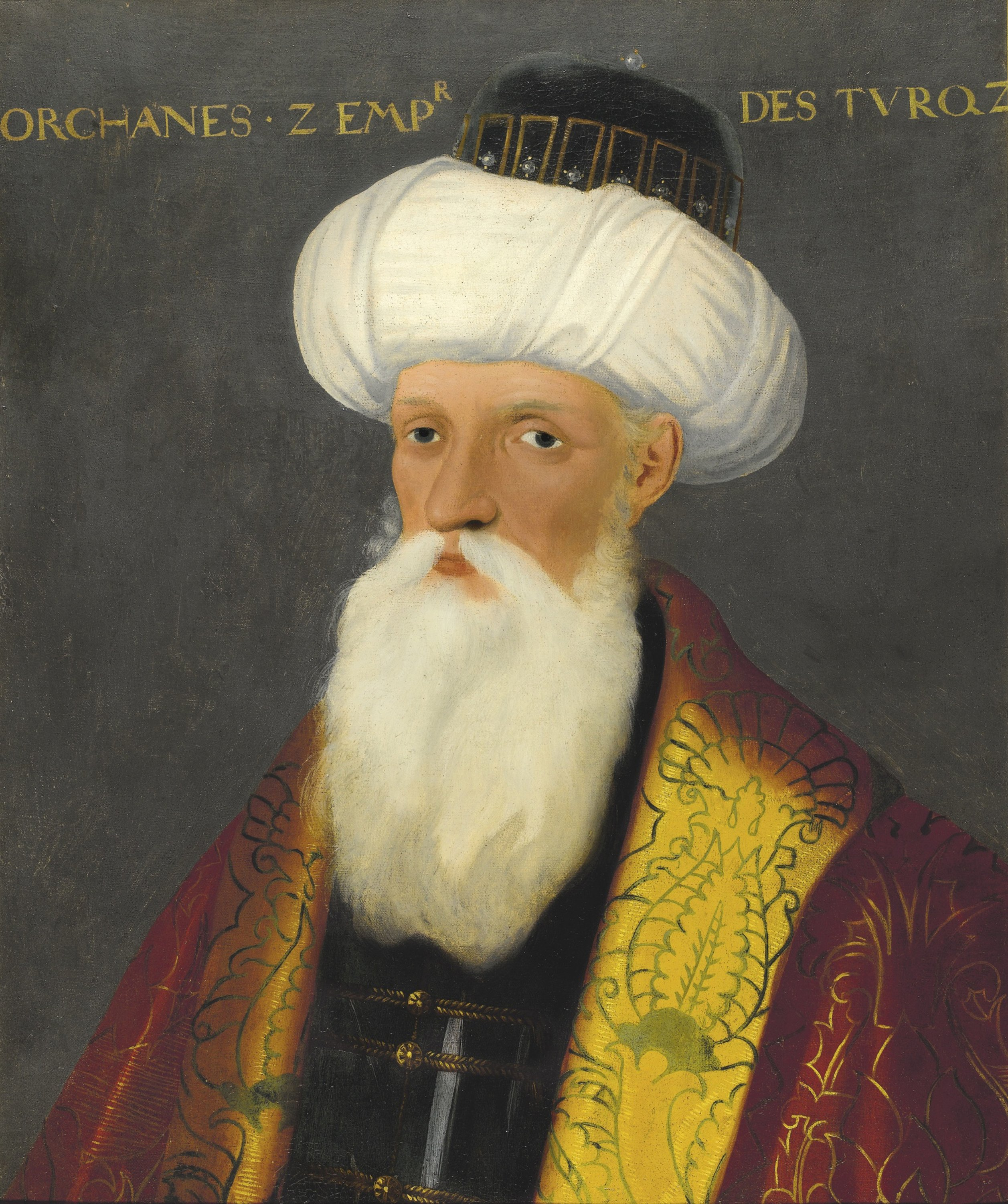 A portrait of Orhan I by an unknown artist. (Getty Images)
