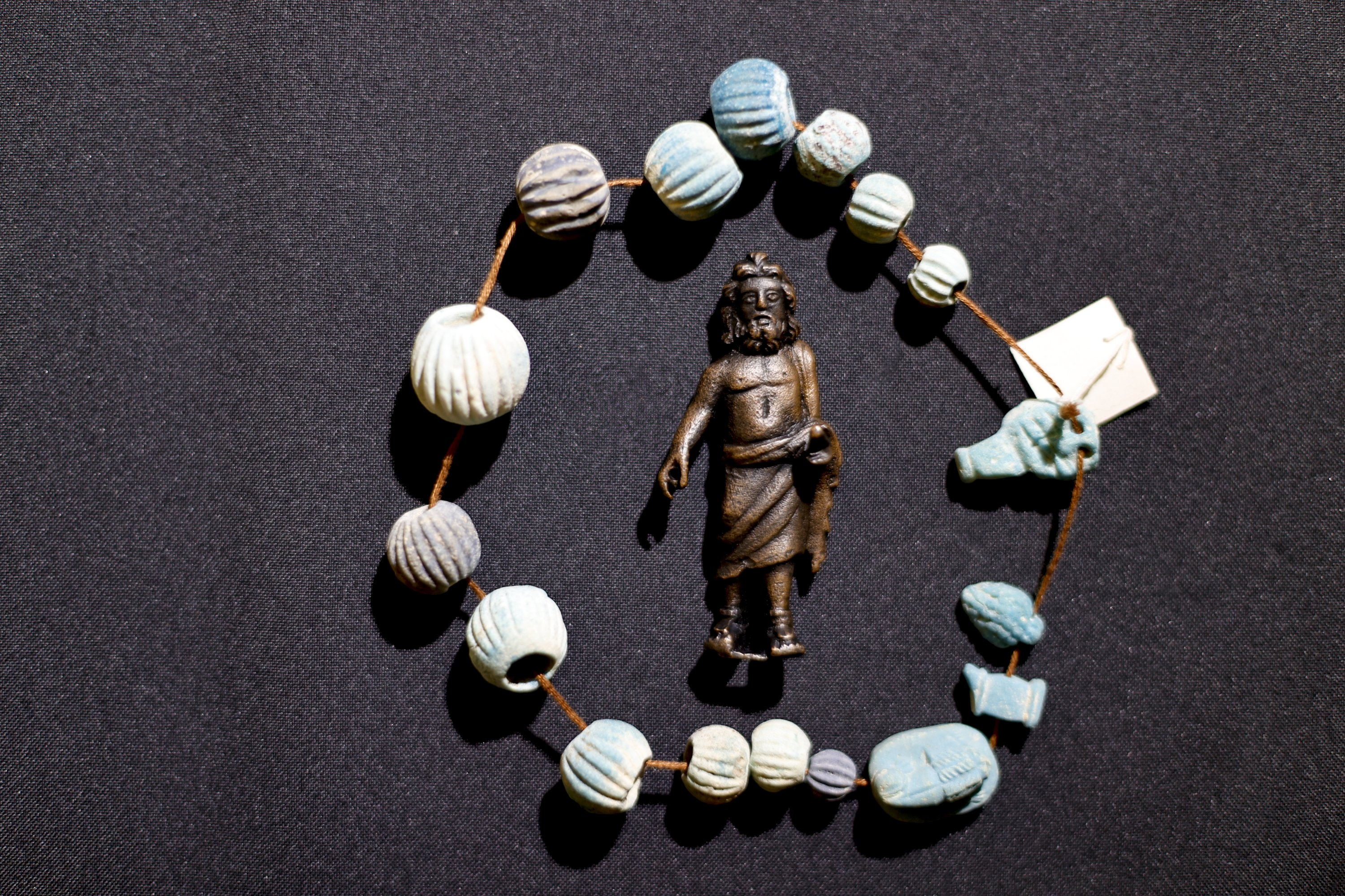 Some artifacts found in the ancient city of Phanagoria, Russia, Oct. 1, 2021. (AA Photo)