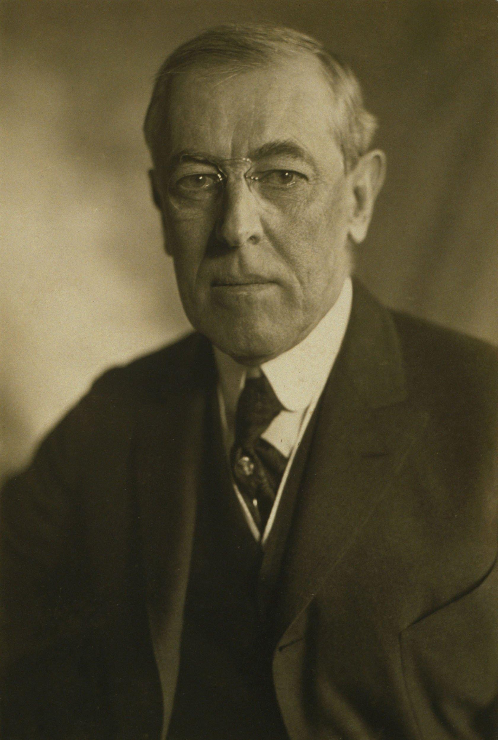 Former U.S. President Woodrow Wilson (1856-1924) in a 1919 portrait. (Shutterstock Photo)