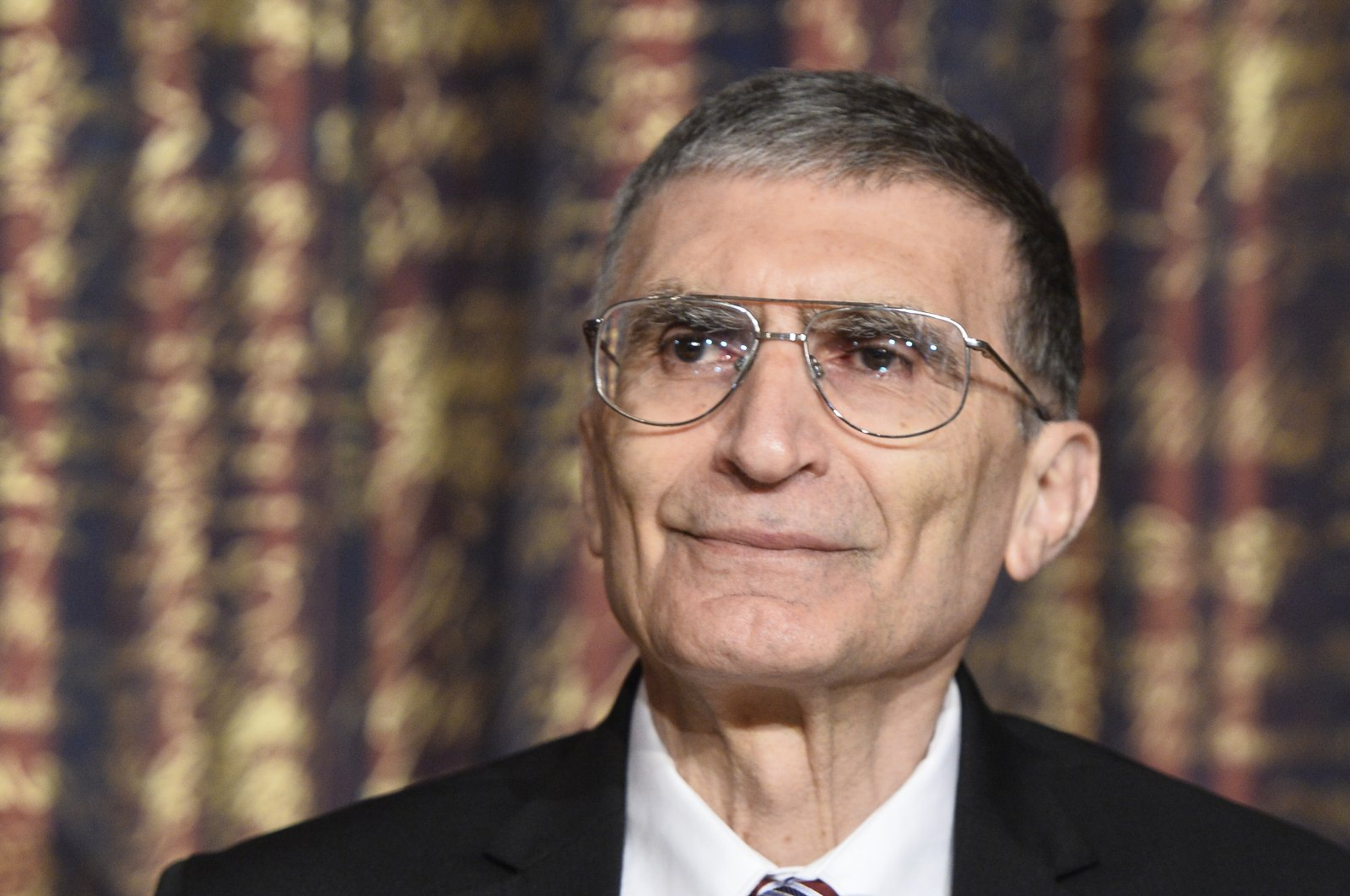Nobel laureate in chemistry Aziz Sancar, looks on during a news conference at the Royal Swedish Academy of Science in Stockholm, Sweden, Dec. 7, 2015. (REUTERS Photo)