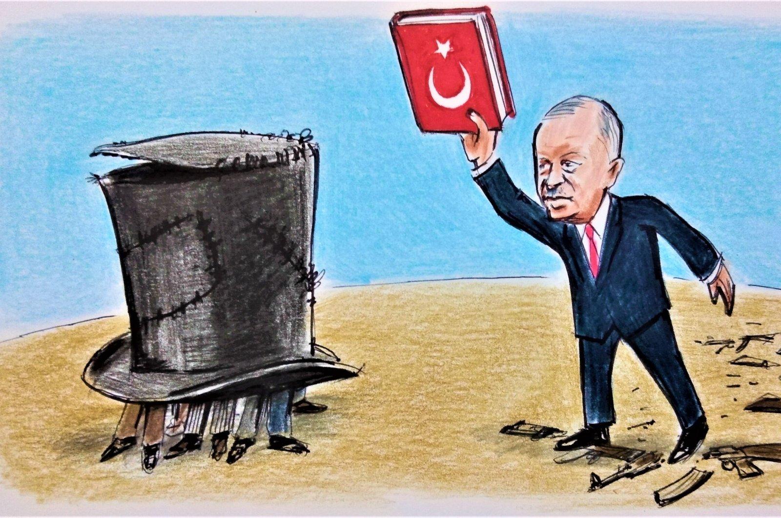 Illustration by Erhan Yalvaç.