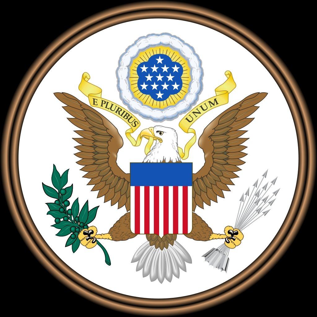 A photo of the Great Seal of the United State. (Wikimedia Photo)