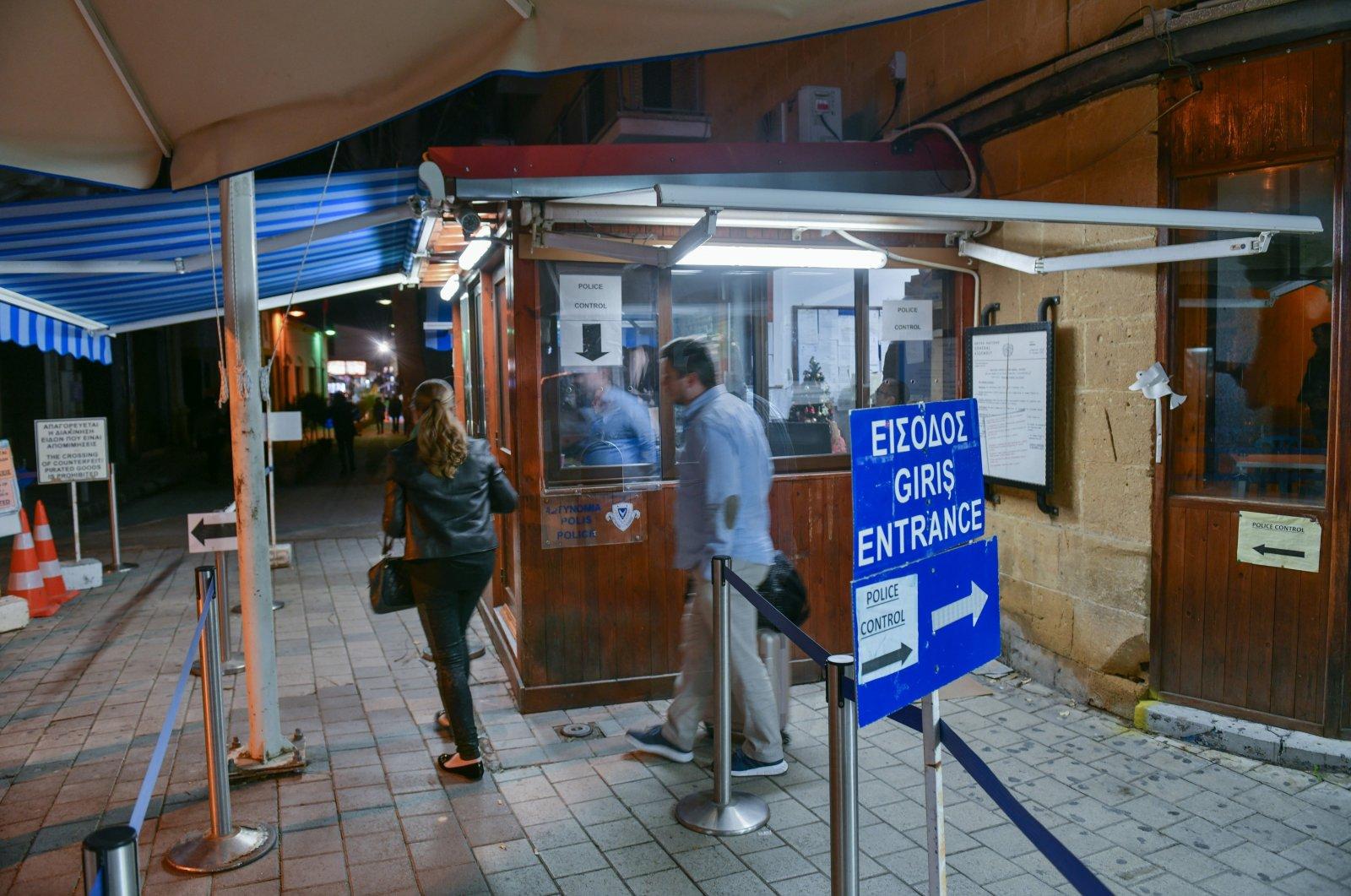 Border crossing on Ledra street in Nicosia, Greek Cyprus. (Getty Images)