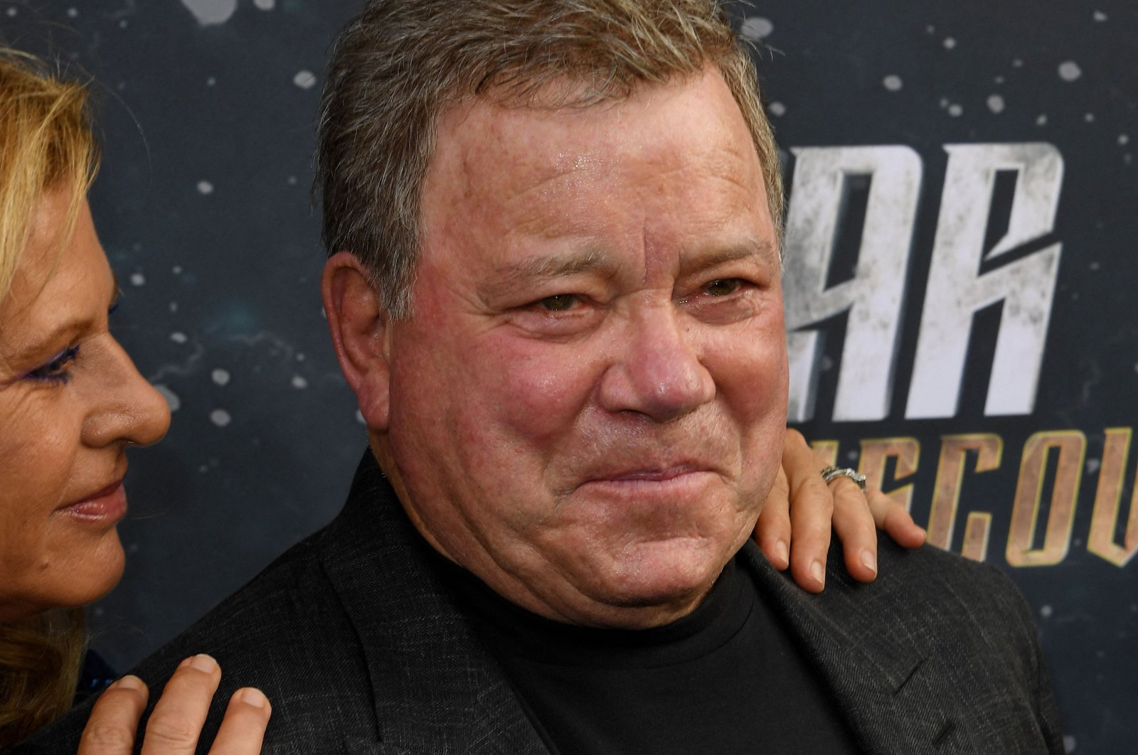 """Elizabeth Shatner (L) and William Shatner arrive for the premiere of CBS's """"Star Trek: Discovery"""" at The Cinerama Dome in Hollywood, California, U.S., Sept. 19, 2017. (AFP Photo)"""