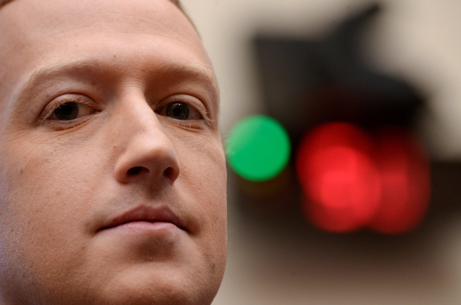 Facebook Chairman and CEO Mark Zuckerberg testifies at a House Financial Services Committee hearing in Washington, U.S., Oct. 23, 2019. (Reuters File Photo)