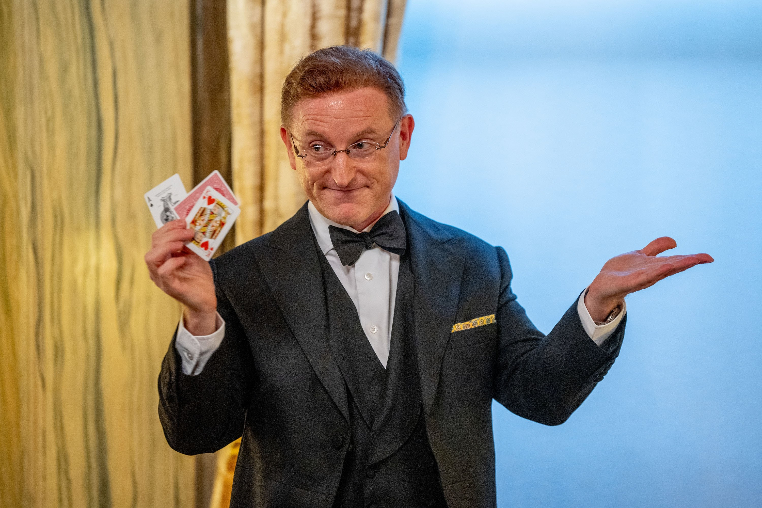 Magician Steve Cohen performs at Lotte New York Palace on June 04, 2021, in New York City. (Getty Images)