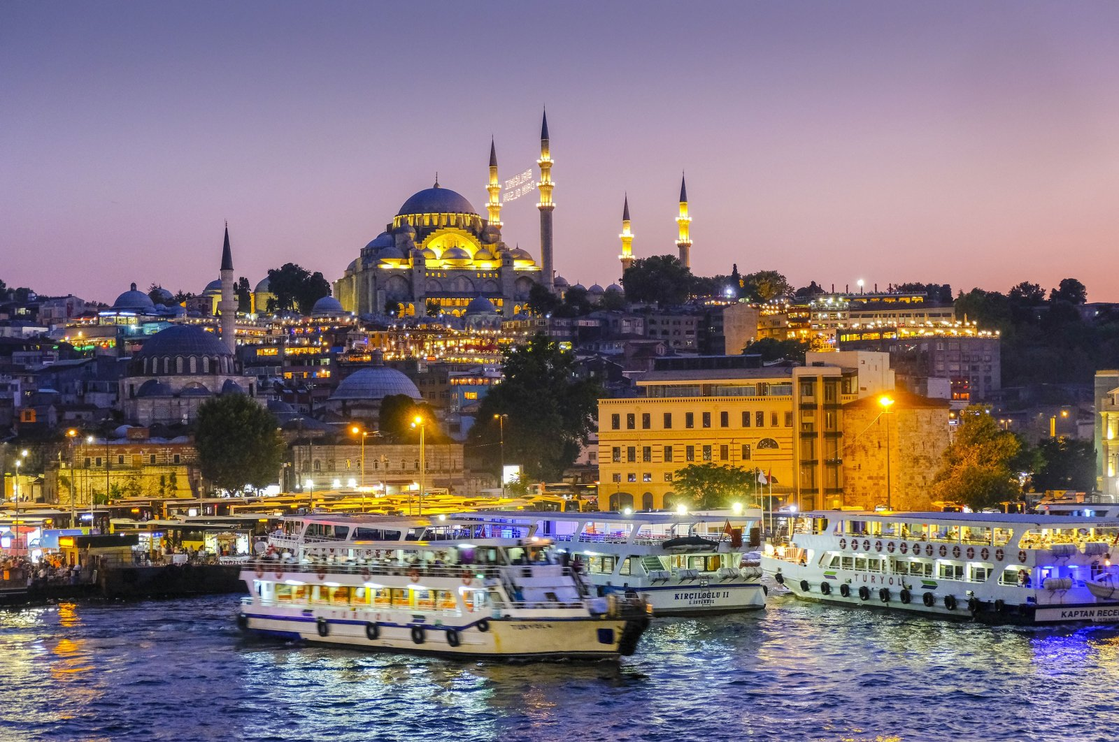 A view of the Fatih district against the backdrop of mosques, in Istanbul, Turkey, July 21, 2018. (Getty Images)