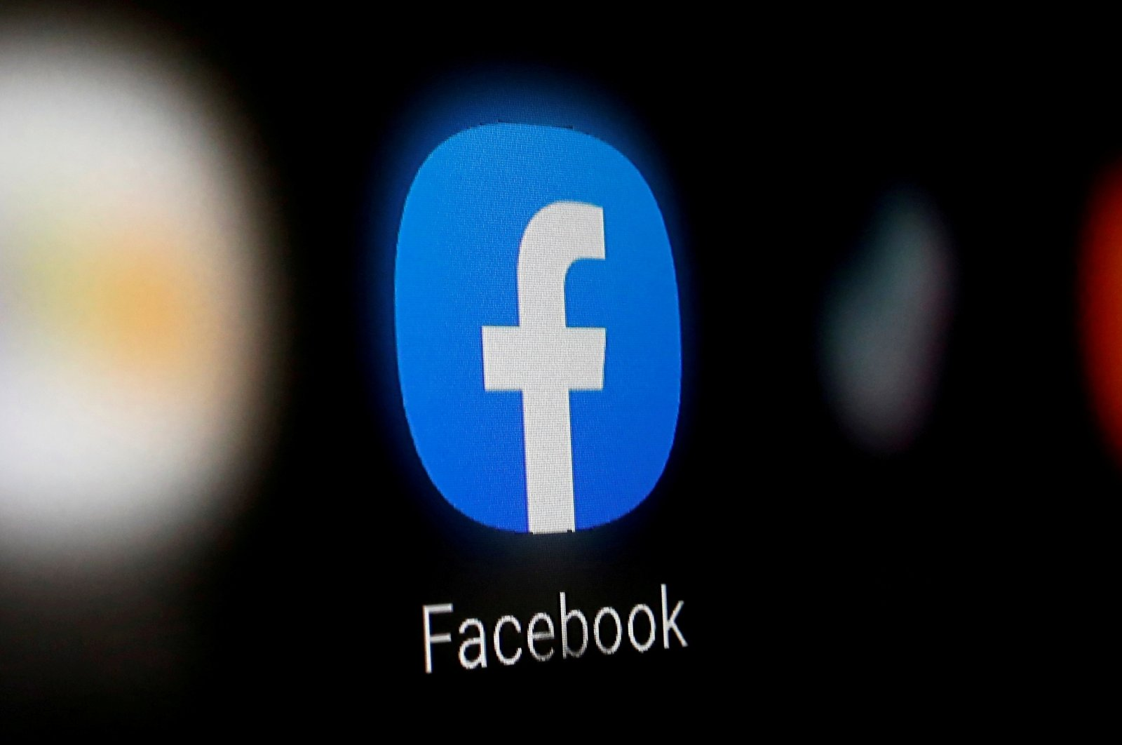 A Facebook logo is displayed on a smartphone in this illustration taken Jan. 6, 2020. (Reuters Photo)