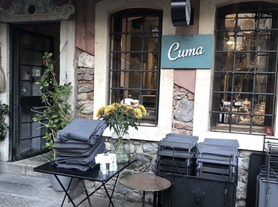Cuma offers a variety of great food for its visitors. (Photo from Instagram / @cumacukurcuma)