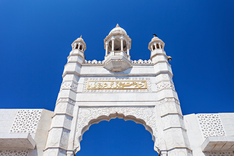 A close-up of the gate of the Haji Ali Dargah in Mumbai, India. (Shutterstock Photo)