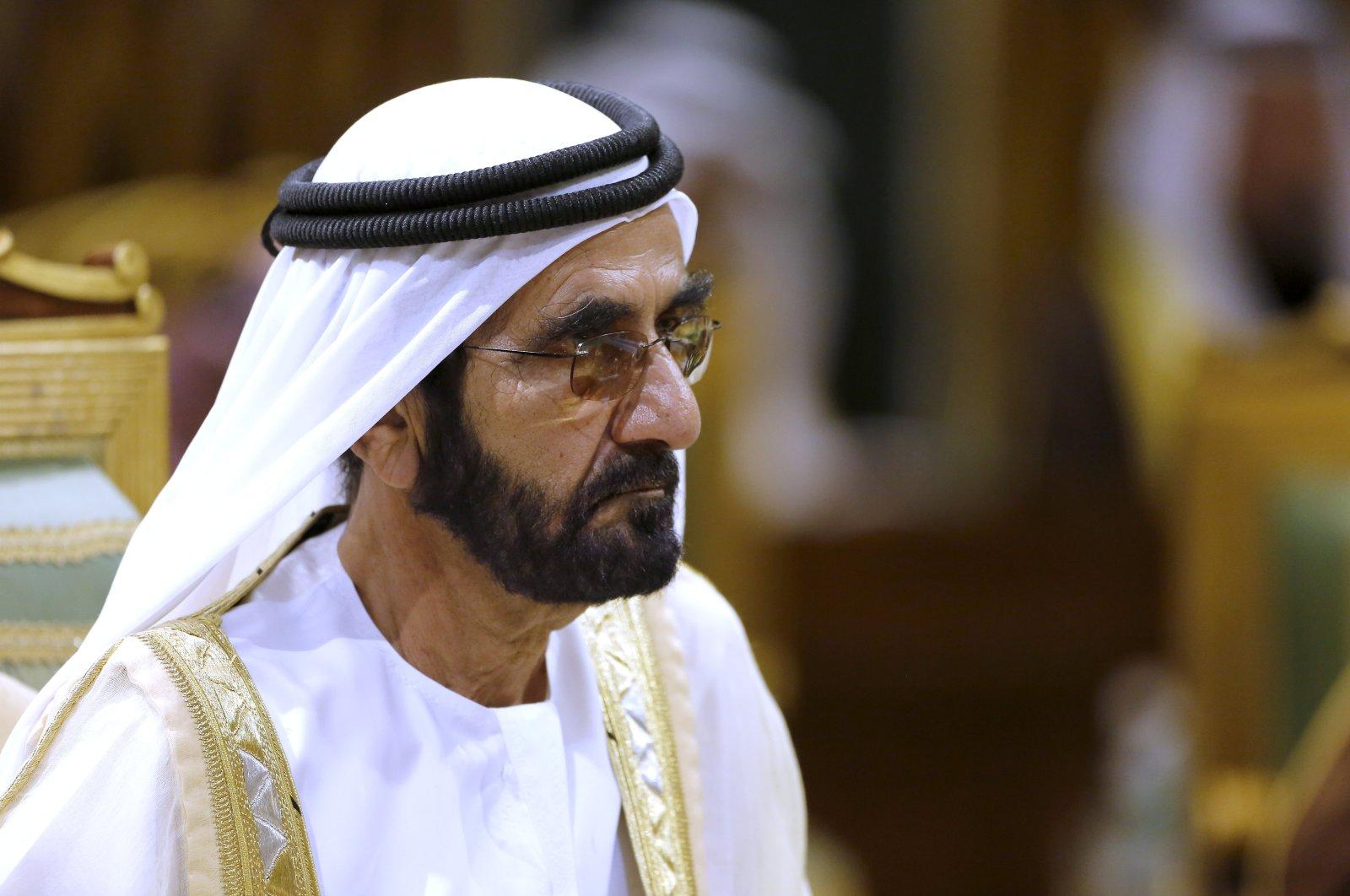 Prime Minister of the United Arab Emirates (UAE) Sheikh Sheikh Mohammed bin Rashid Al Maktoum attends the 40th Gulf Cooperation Council Summit in Riyadh, Saudi Arabia, Dec. 10, 2019. (AP Photo)