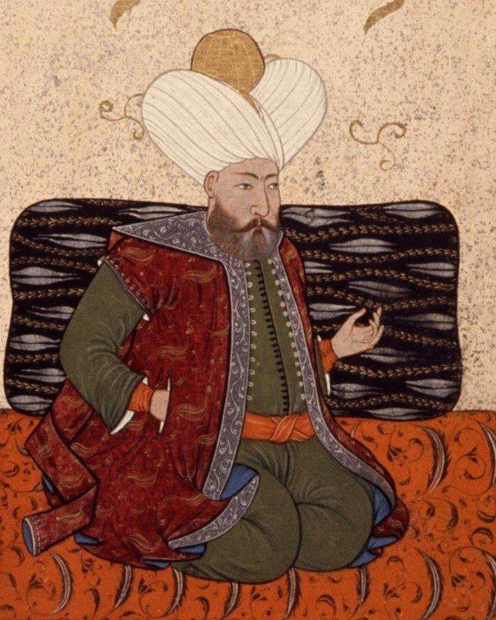 16th century miniature of Murad I. (Wikimedia Photo)