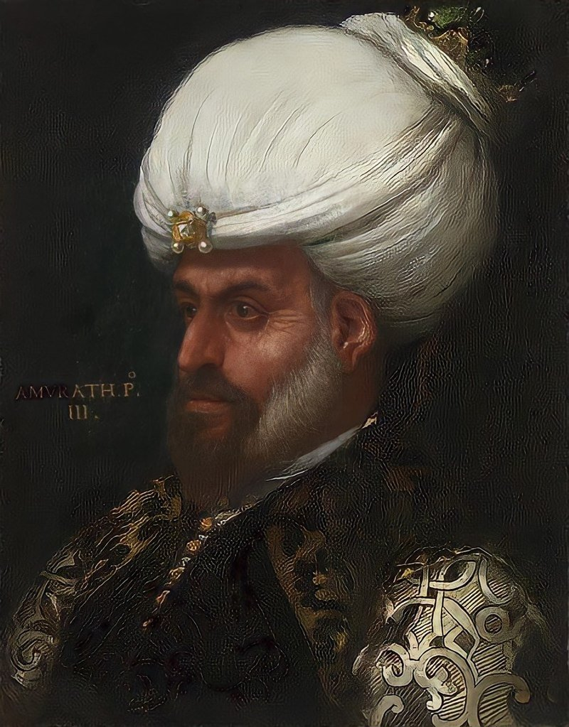 16th century portrait of Murad I by Paolo Veronese. (Wikimedia Photo)