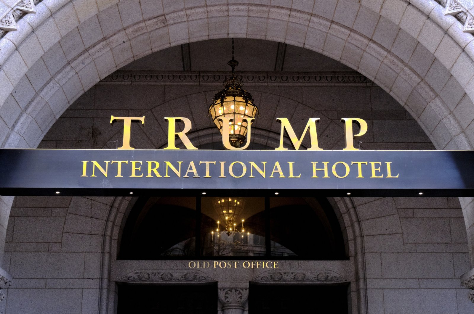 The north entrance of the Trump International in Washington, D.C., U.S., March 11, 2019. (AP File Photo)