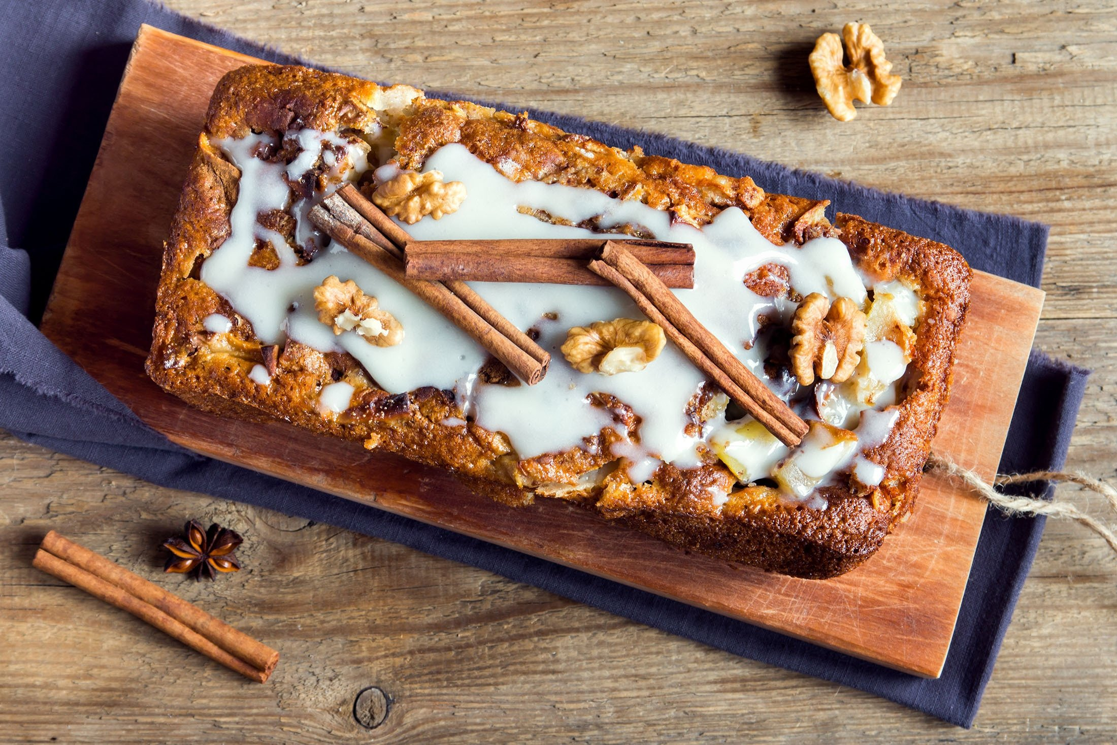 Cinnamon cake is a must-try if you have never had it before, try adding apples. (Shutterstock Photo)