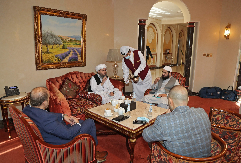 Taliban meet EU-US delegation