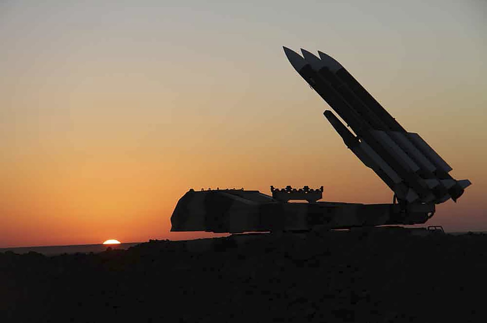 Missiles and a launcher participate in a joint army and Revolutionary Guard maneuver, Oct. 12, 2021, (Iranian army via AP)