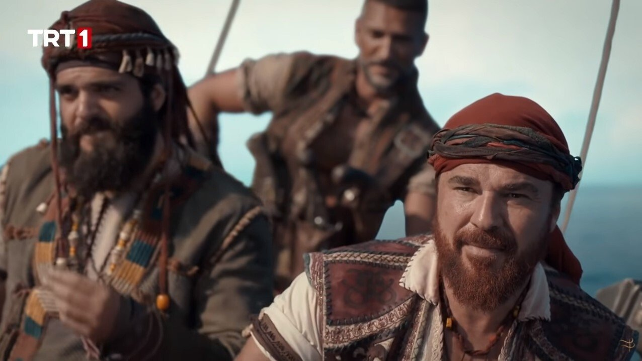 "Actor Engin Altan Düzyatan as Oruç Reis in a still shot from ""Barbaros: Sword of the Mediterranean."""