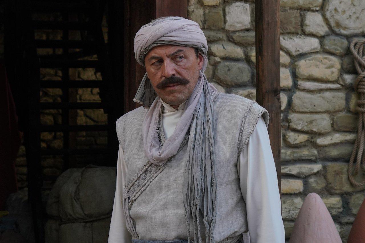 Actor Yetkin Dikinciler as Ishak Reis in a still shot from 'Barbaros: Sword of the Mediterranean.'
