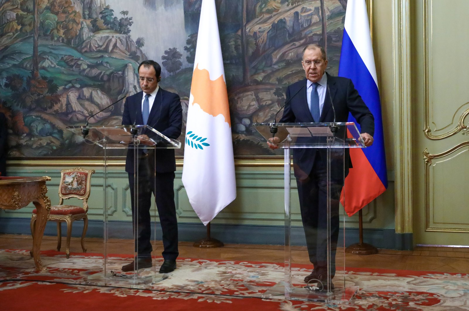 Russia favors just, viable, comprehensive settlement to Cyprus issue